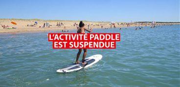 L'activité paddle n'exite plus