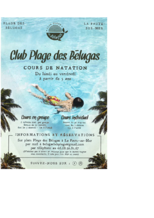 flyer piscine bélugas